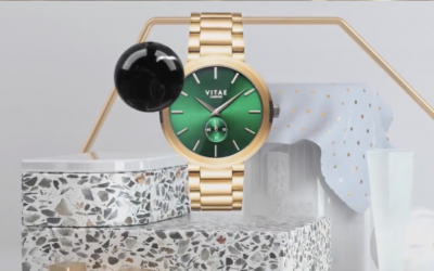 Tidiane Diagana's animation for Vitae London showcases the design behind its watches